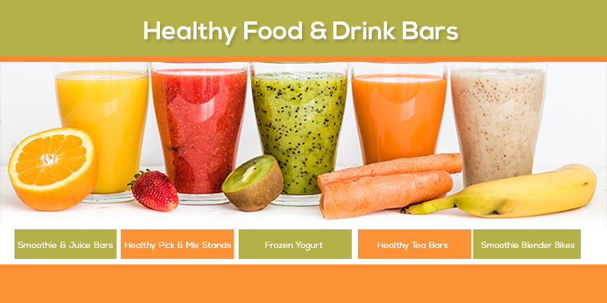 Healthy food and drinks